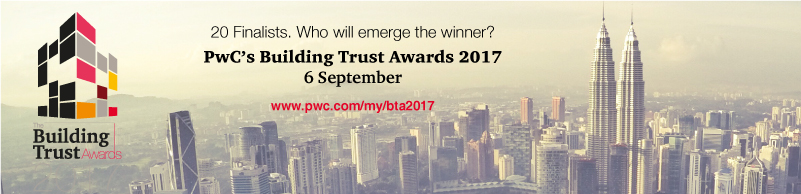 PwC's Building Trust Awards 2017: the 20 finalists