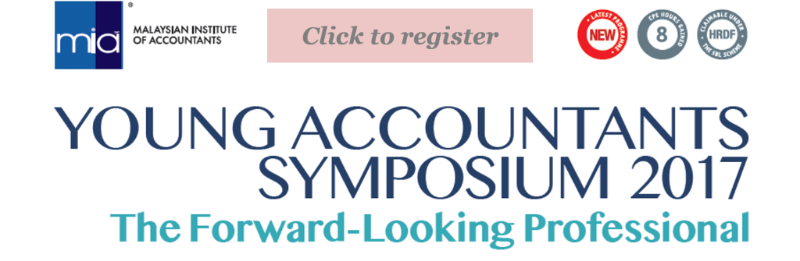 Young Accountants Symposium on the 18 May 2017