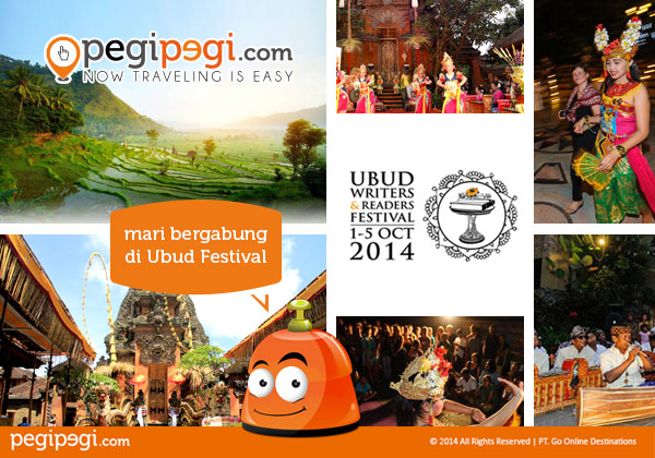 Ubud Writers & Readers Festival 2014