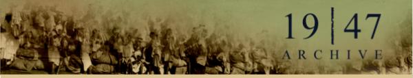 1947 Partition Archive