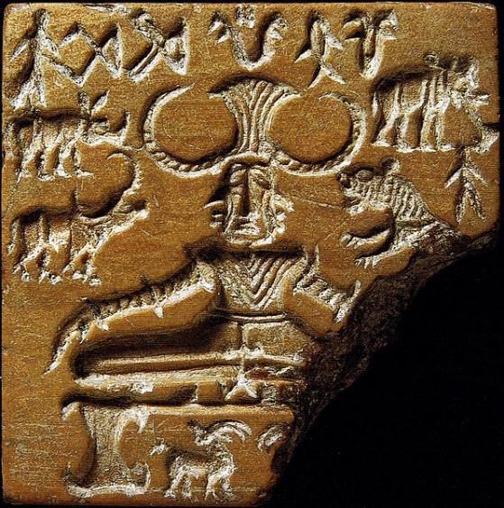 [Image: Ancient Indus Valley seal]