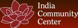 [Image Logo:  India Community Center]