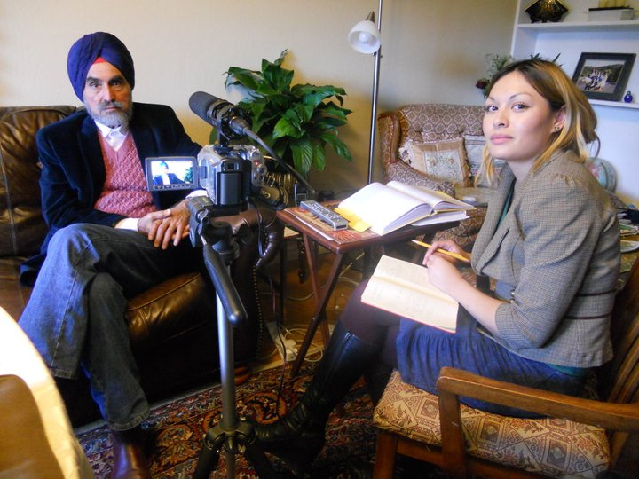 Image from interview with Dr. Gurnam Brard