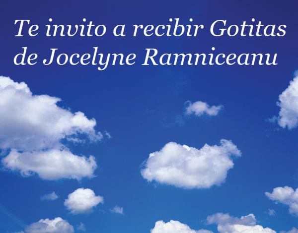 Comparte las Gotitas de Jocelyne Ramniceanu