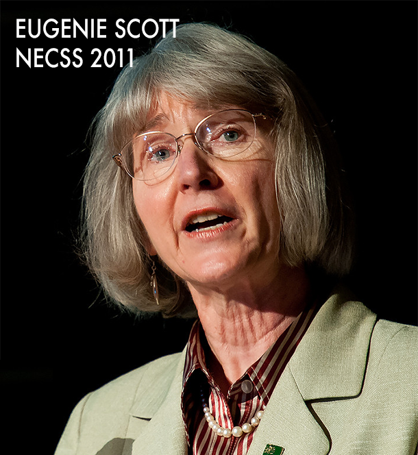 Eugenie Scott at NECSS 2011