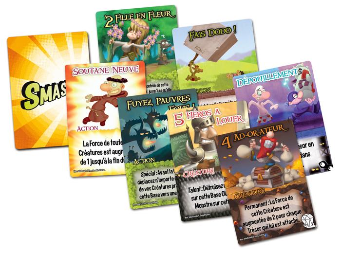 Les cartes du jeu