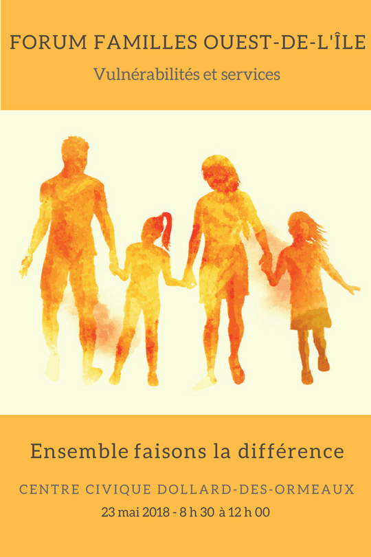 West Island Families Forum Poster