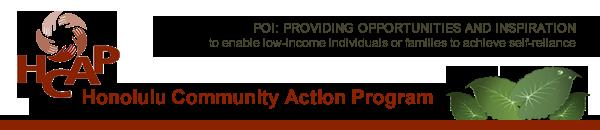 HCAP - Honolulu Community Action Program, Inc.