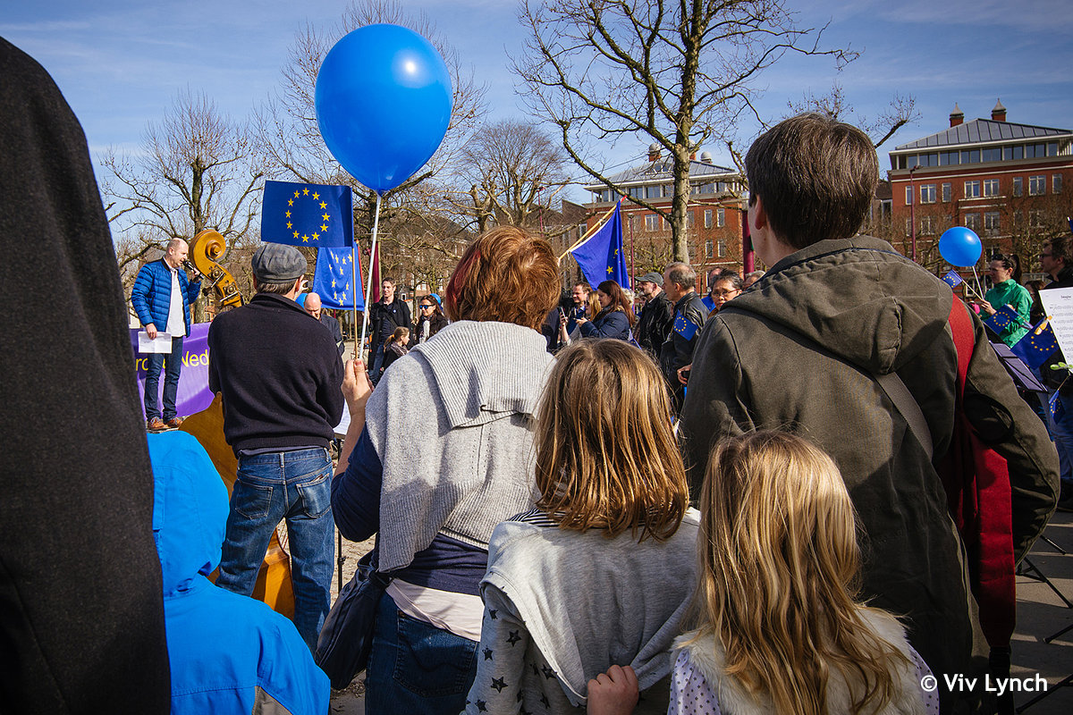 Pulse of Europe Rally © Viv Lynch