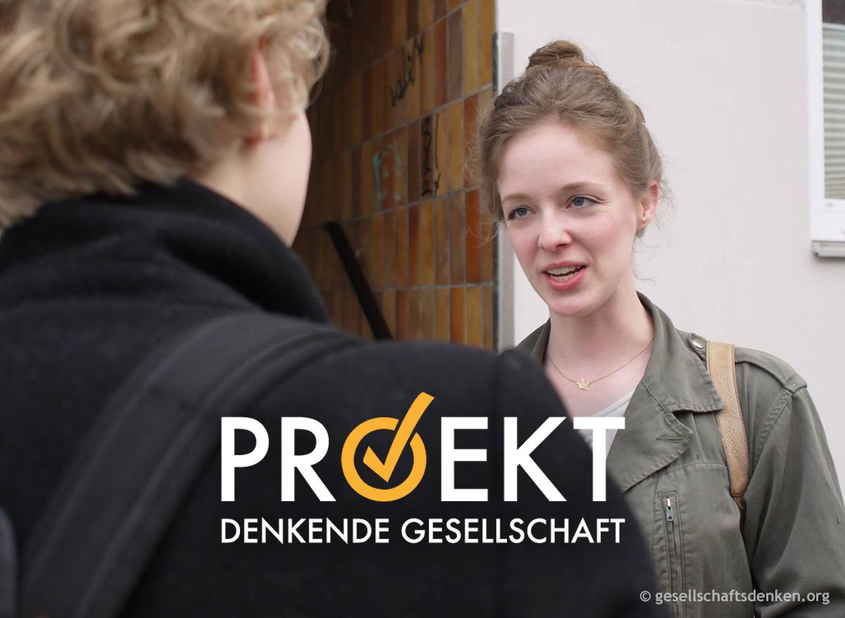 Politische Türgespräche des Projekts Denkende Gesellschaft