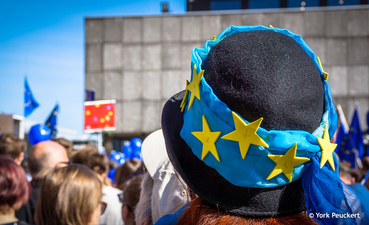 Pulse of Europe in Köln, Foto: York Peuckert