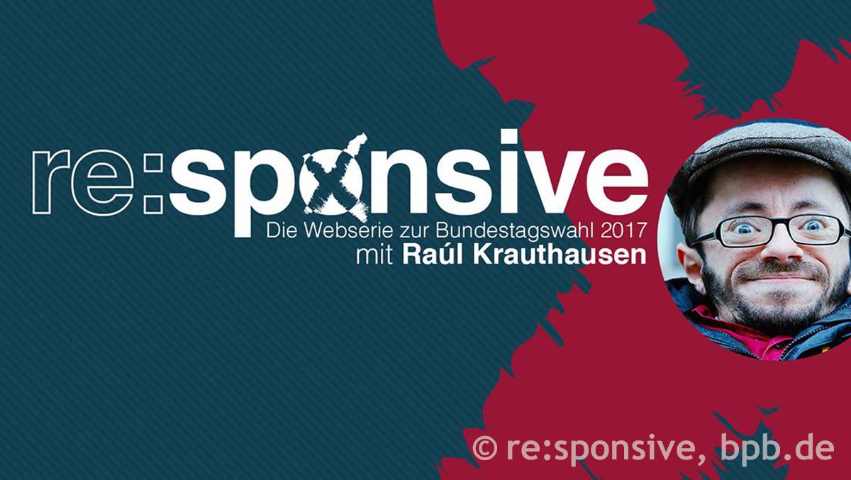 re:sponsive, eine Webserie zur Wahl