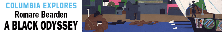 At the Wallach Art Gallery - Romare Bearden: A Black Odyssey