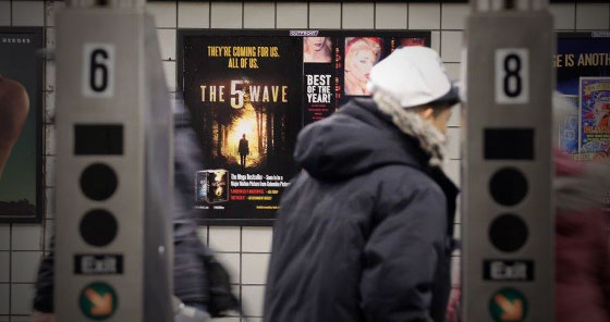 The 5th Wave - Penguin - Subway Posters