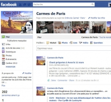 Page Facebook Carmes de Paris