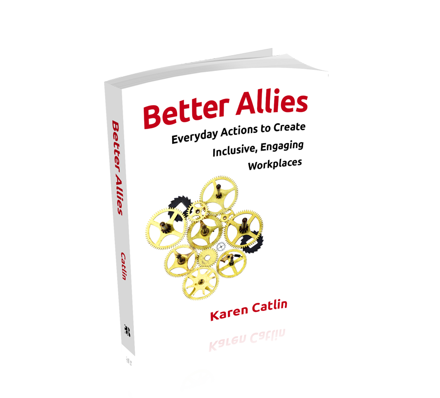 "Book cover for ""Better Allies: Everyday Actions to Create Inclusive, Engaging Workplaces"""