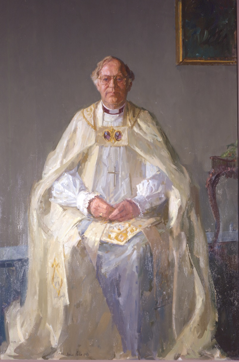 Portrait of Archbishop Runcie from Lambeth Palace