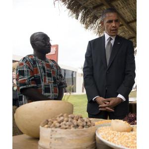 President Obama Speaks with NCBA CLUSA's Papa Sene