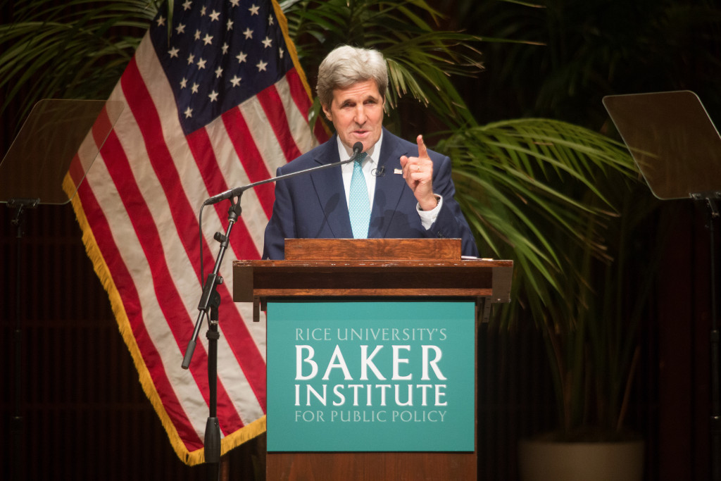 Baker Institute Update: Secretary of State John Kerry speaks on the role of religion in foreign policy