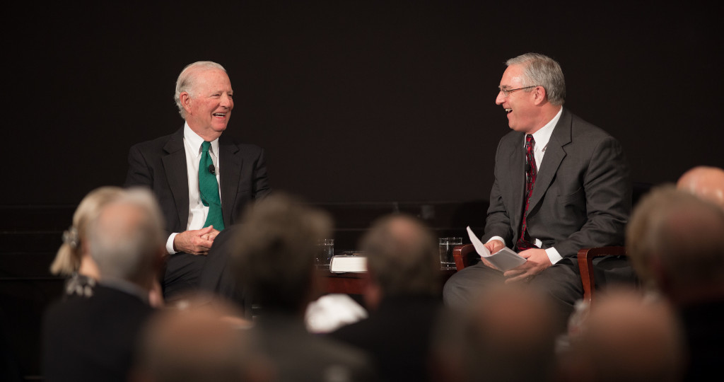 Baker Institute Update: Cross-examining history with The Honorable James A. Baker, III