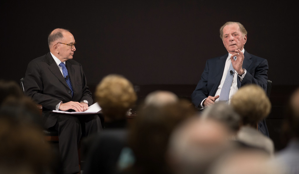 Baker Institute Update: Amb. Itamar Rabinovich on the legacy of Yitzhak Rabin; RYP at the MFAH