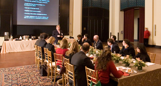 Baker Institute Update: Does peace drive us crazy? Come to lunch and find out