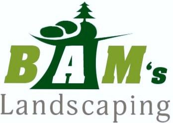 bams landscaping logo