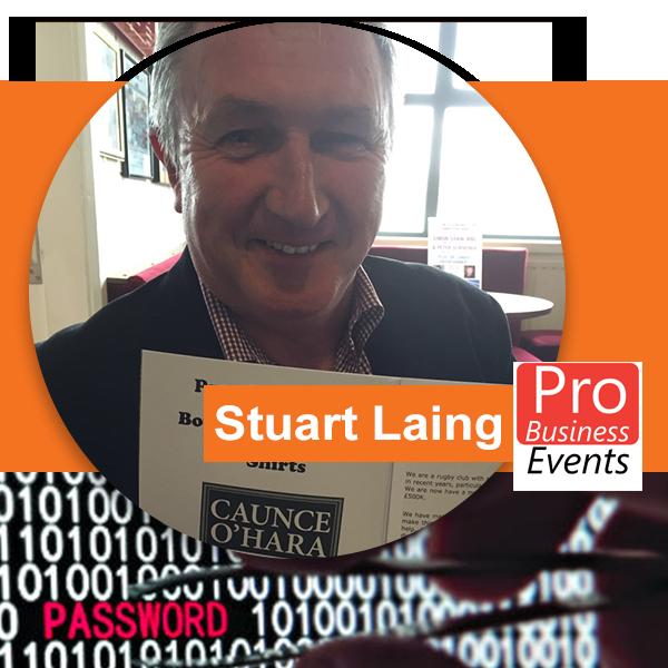 Stuart Laing Guest Speaker