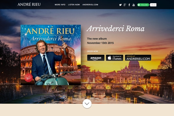 Screenshot André Rieu