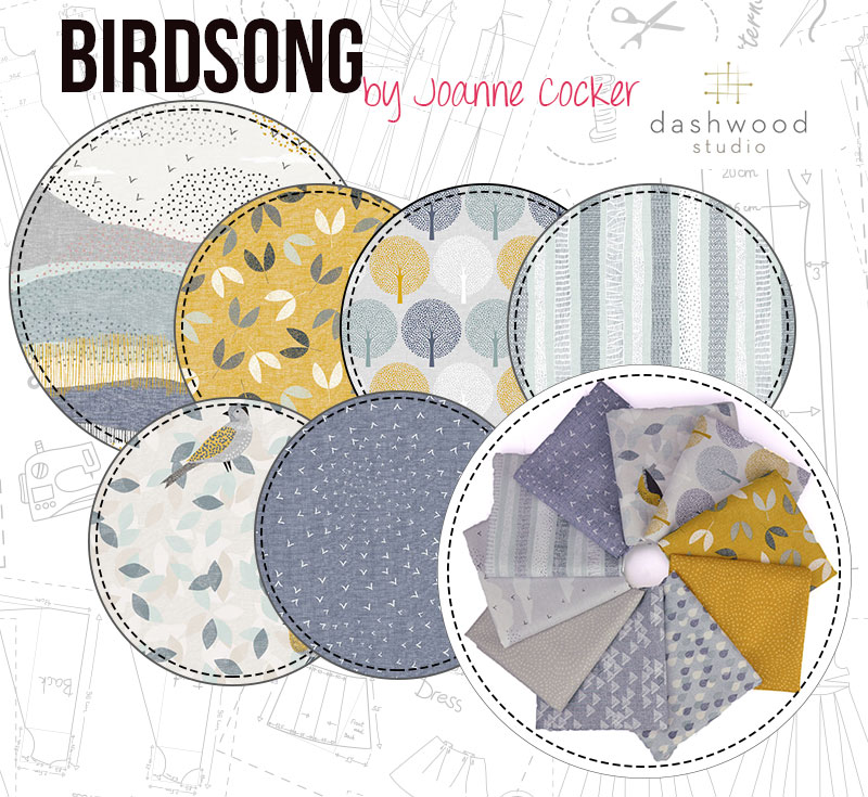 Birdsong is a beautiful spring collection!