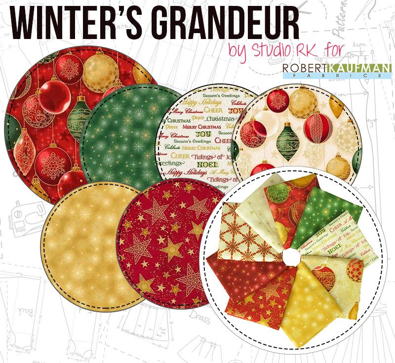 Winters Grandeur by Studio RK for Robert Kaufman