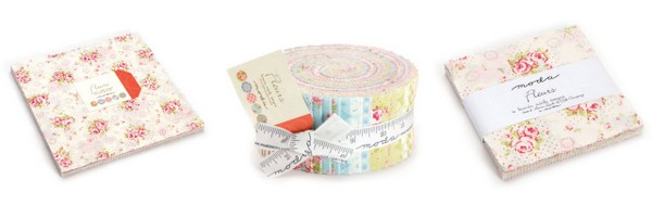 We have some jelly rolls, charm packs & layers cakes
