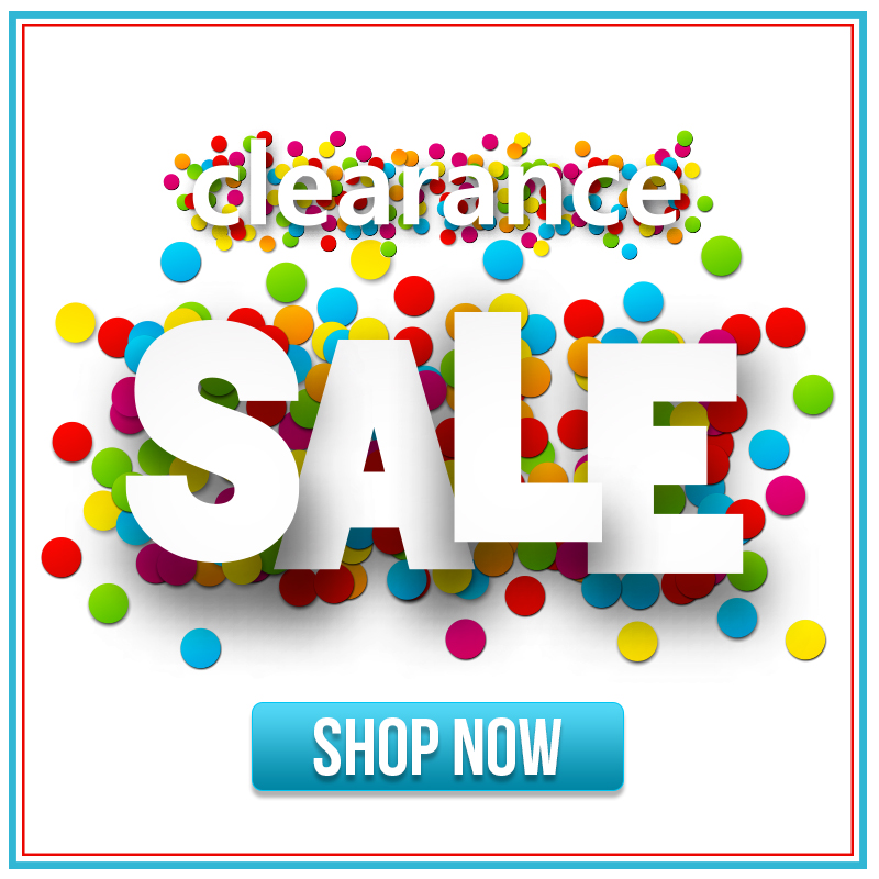 Clearance Sale - Shop Now
