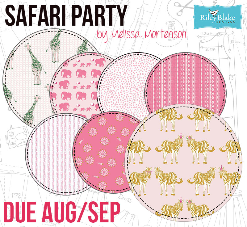 Safari Party by Melissa Mortenson for Riley Blake
