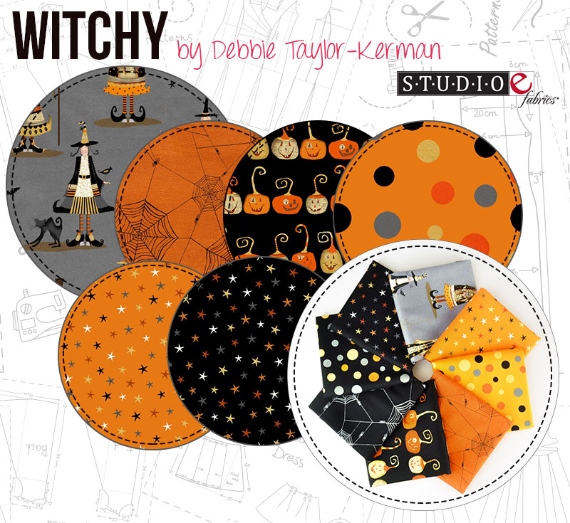 Witchy by Debbie Taylor-Kerman for Studio E