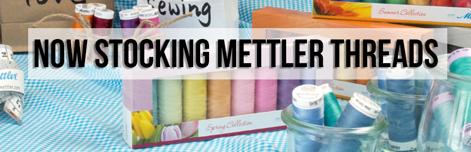 We are now stocking mettler threads!