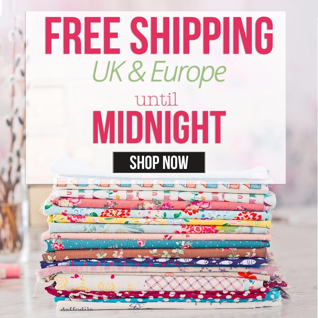 Free Shipping UK & Europe until Monday!