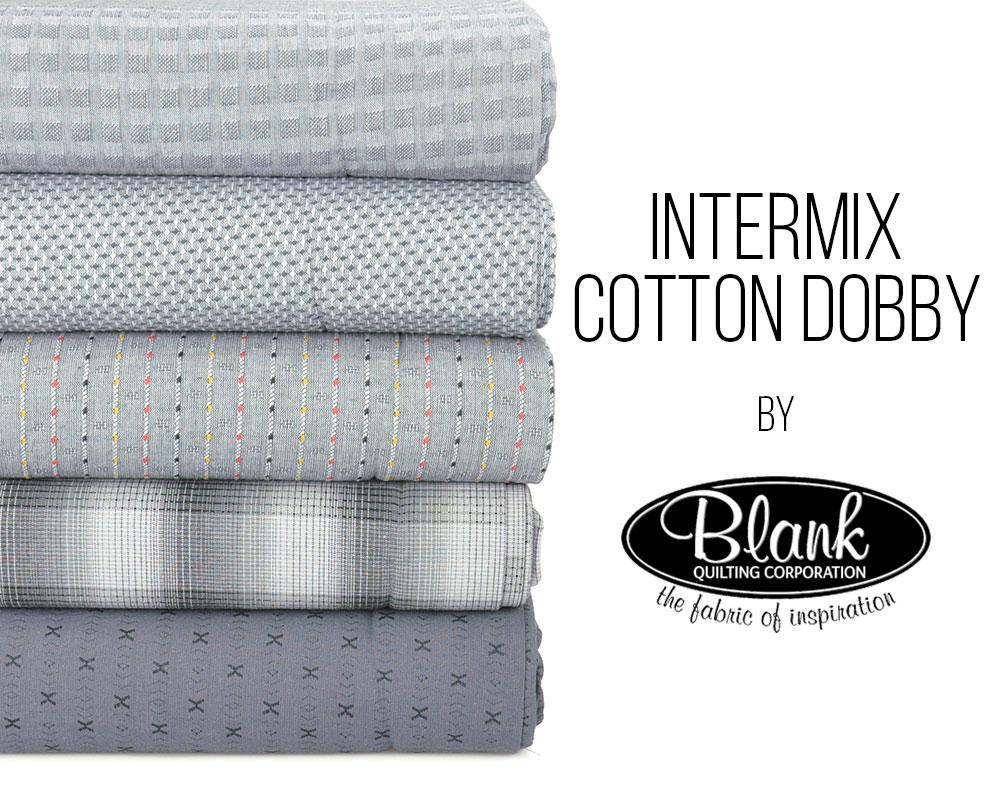 Intermix Cotton Dobby looks elegant in grey!