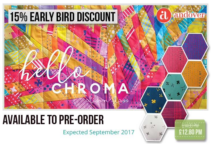 15% off Chroma by Alison Glass
