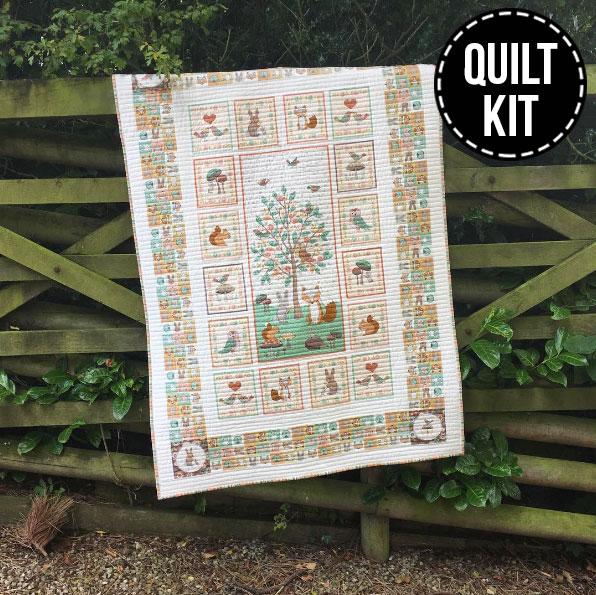 Doodle Days Quilt Kit