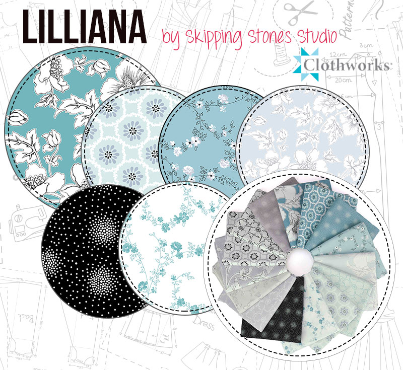 Lilliana by Skipping Stones Studio for Clothworks