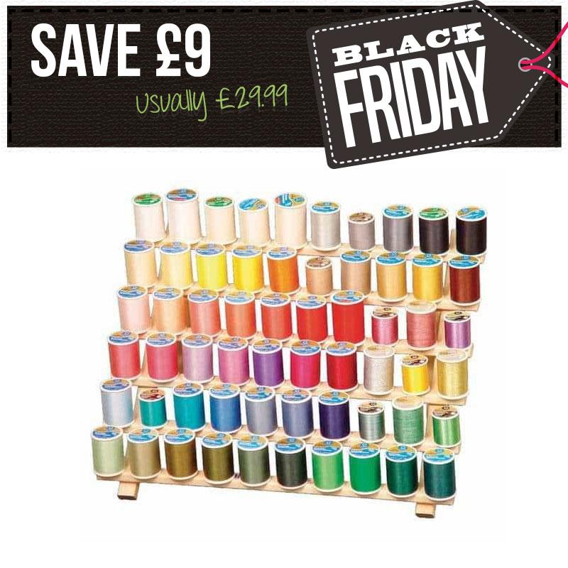 Save £9 - Wooden Thread Rack