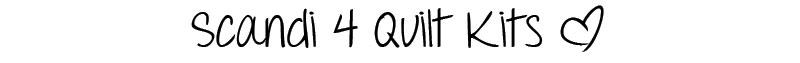 Scandi 4 Quilt Kits