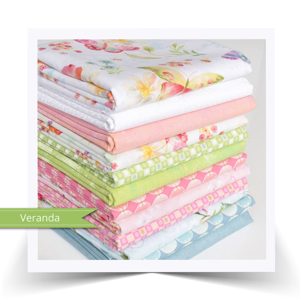 Veranda fat quarter bundle