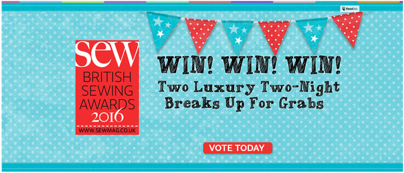 Vote In The British Sewing Awards 2016