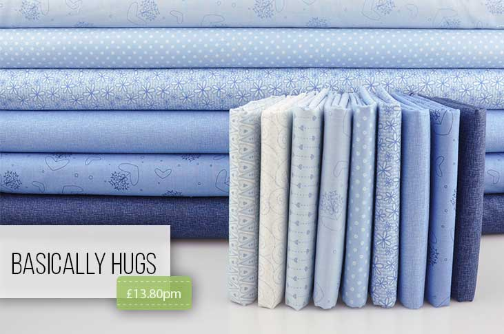 Basically Blue is a quilters dream!