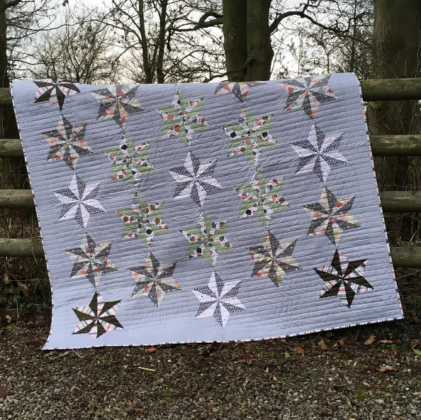 Have a look at this fantastic quilt kit!
