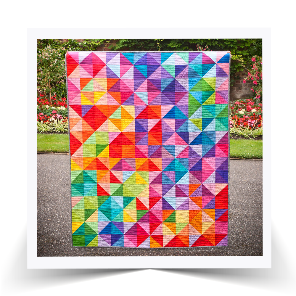 WOW! See the gorgeous Postcards From Sweden quilt kit.