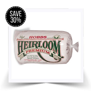 We're offering a whopping 30% off Hobbs pre-cut wadding.