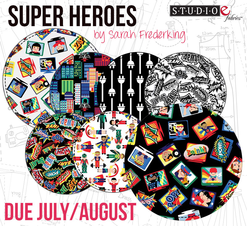 Super Heroes by Sarah Frederking from Studio E